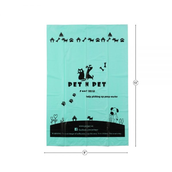 Bolsas biodegradables caca de perro 18 rollos con perfume de lavanda 6
