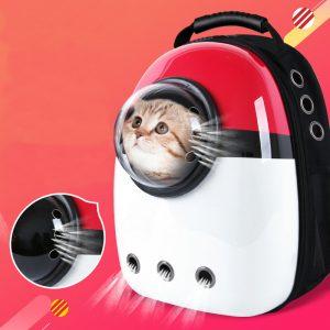 Capsule™ Mochila transportín transpirable gatos o mascotas 1