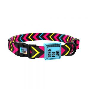 Collar ajustable de diseño para perros – Bond for Love 1